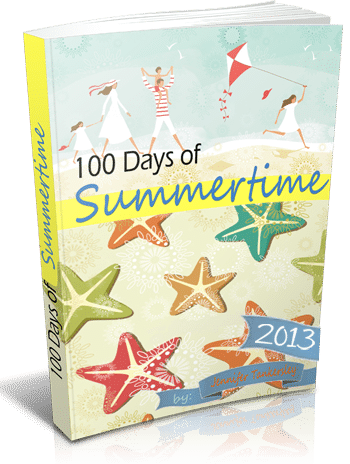 100 Days of Summertime 2013 eBook