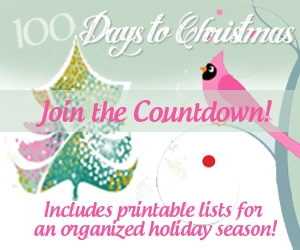 100 Days to Christmas 2013 eBook | ListPlanIt.com