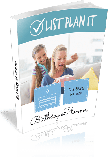 Birthday ePlanner