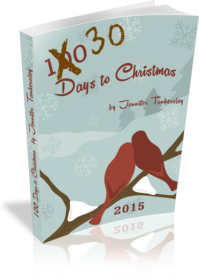 30 Days to Christmas eBook now Available!