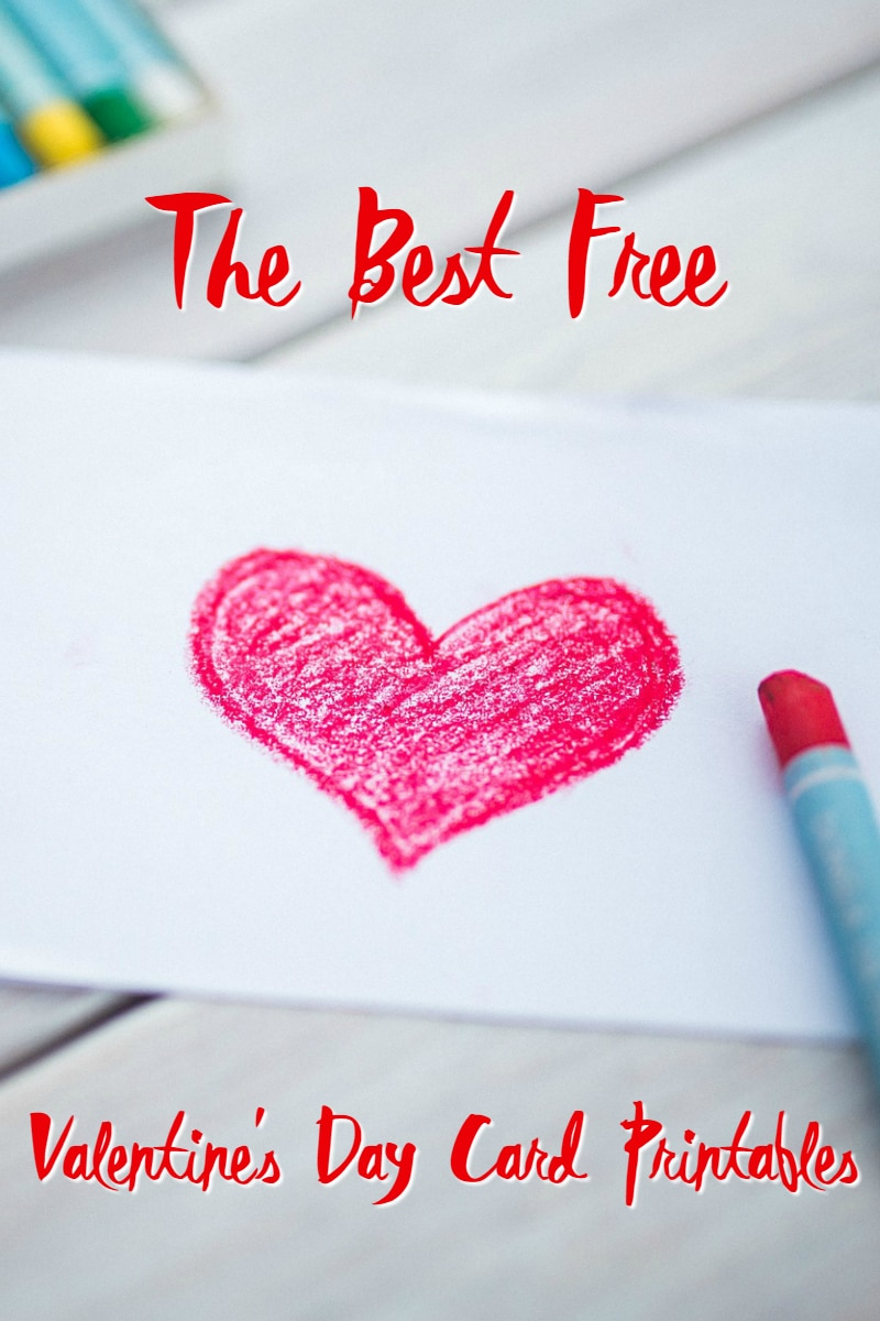30 Of The Best Free Valentine 39 S Day Card Printables