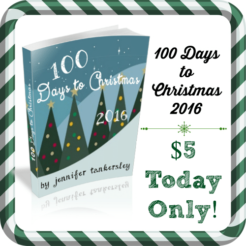 100 Days to Christmas 2016 $5 Today Only